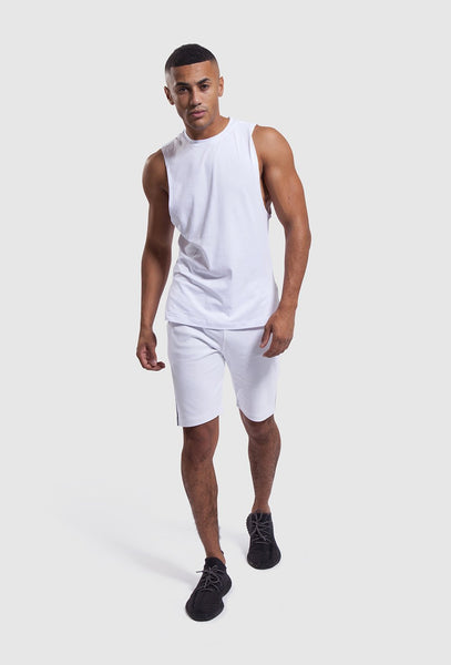 White gym set - Iverson II vest and shorts