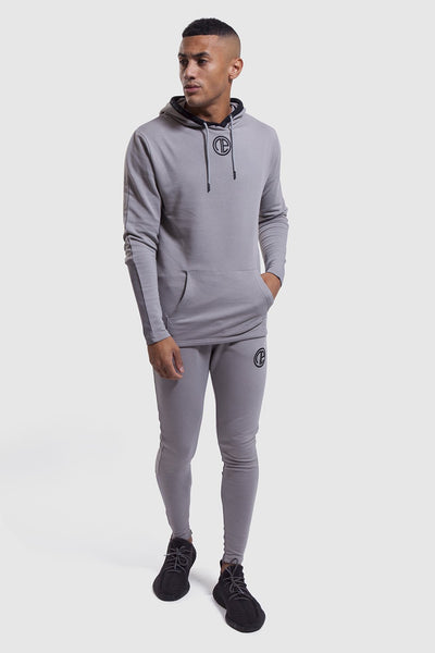 Iverson mens gym jogger in grey with matching hoodie