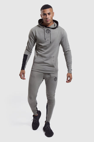 Iverson Khaki joggers and hoodie for men