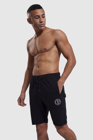 Black Iverson shorts for men