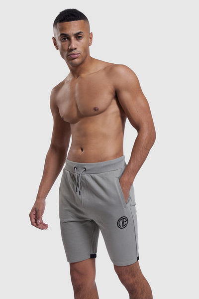 Mens khaki gym shorts made by One Athletic
