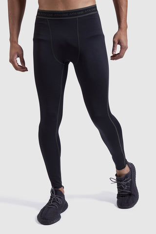 Mtech Run Legging - Black