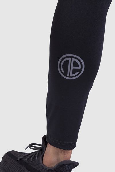 One Athletic Logo on mens sports leggings