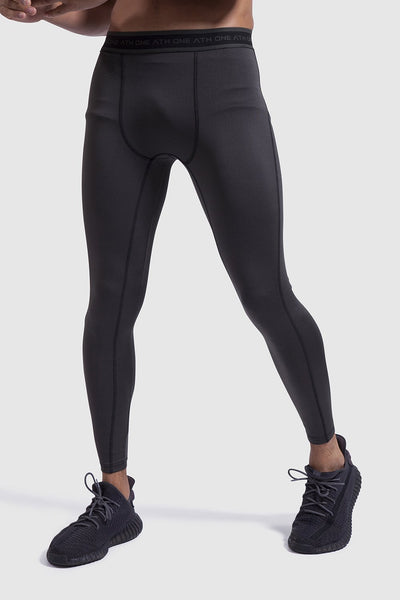One Athletic sports leggings for men in khaki