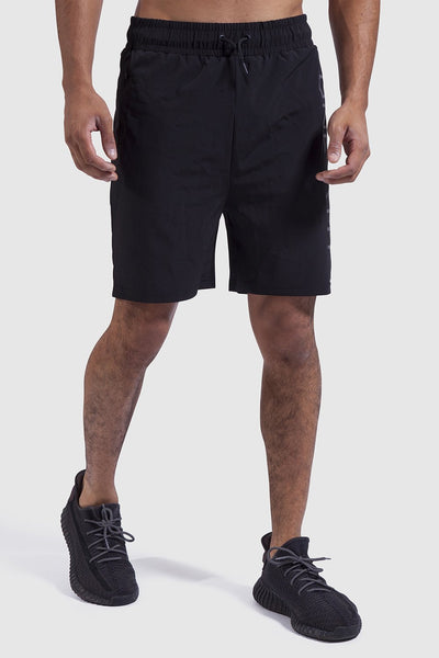 mens training shorts in black