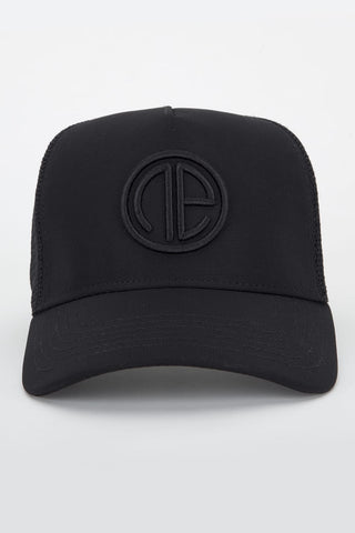 Trucker Cap - Black/Black
