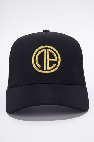 Trucker Cap - Black/Gold