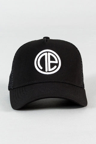 Baseball Cap - Black/White