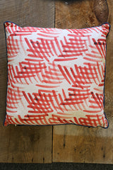 Pillow - Red Patterned