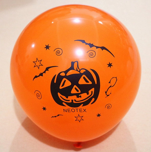 Pack of 10 decorative Halloween balloons