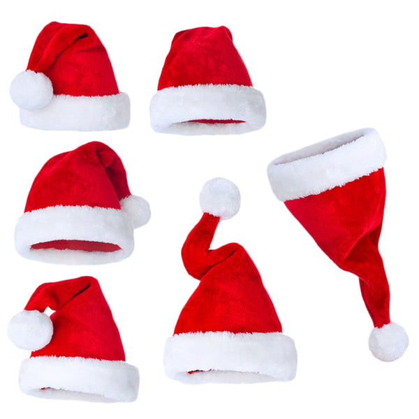 Santa Claus Christmas hats