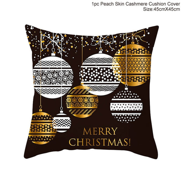 Funny Christmas cushion cover
