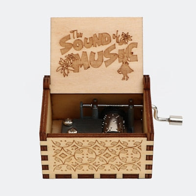 Wooden music box (Personal Christmas gift)