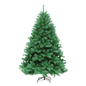 Mini artificial green Christmas tree