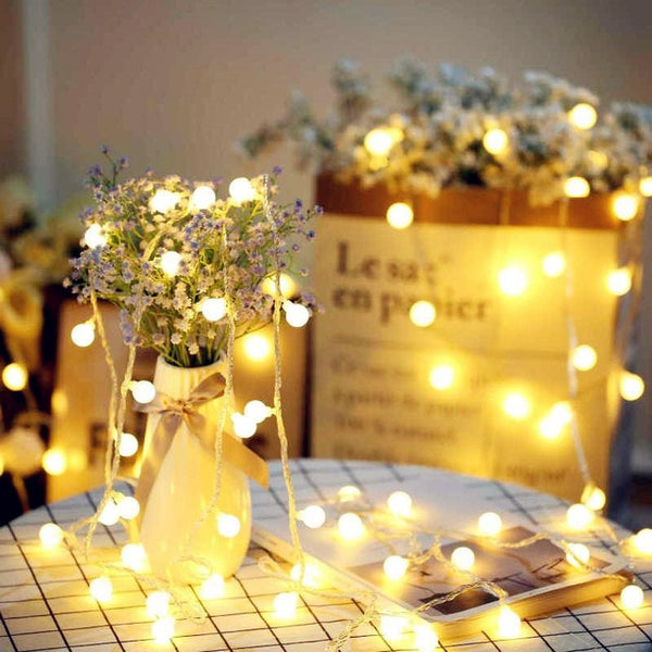 Christmas holiday lamp (Garland ball)