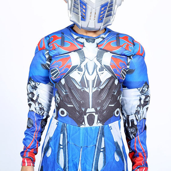 Optimus Prime muscle costume for kids + mask