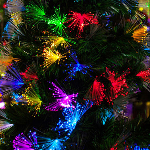 Light Christmas decoration dandelion optic fiber