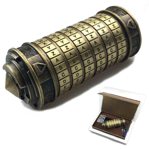 Secret box Leonardo da Vinci code (Made by hand detail)