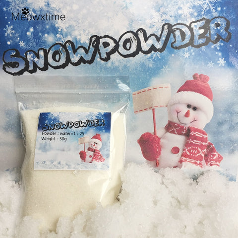 Magic snowflake home decor (Artificial Snow)