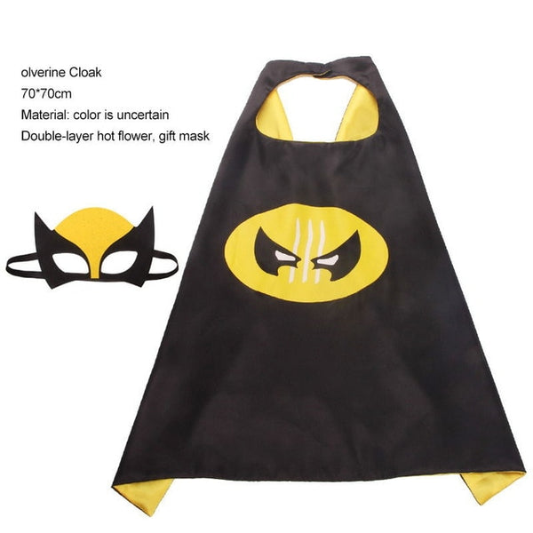 Children's superhero cloak costume