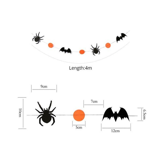 Decorative Halloween wreaths