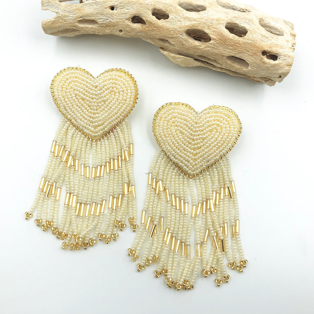 Heart Tassel Cream