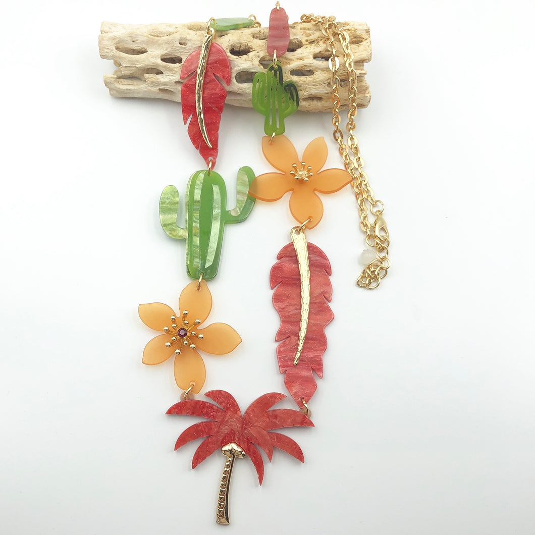 Palm Necklace