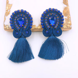 Mini Tassel Navy