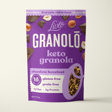 Load image into Gallery viewer, Granolō Keto Granola - Chocolate Hazelnut