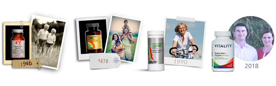 Vitality Products History