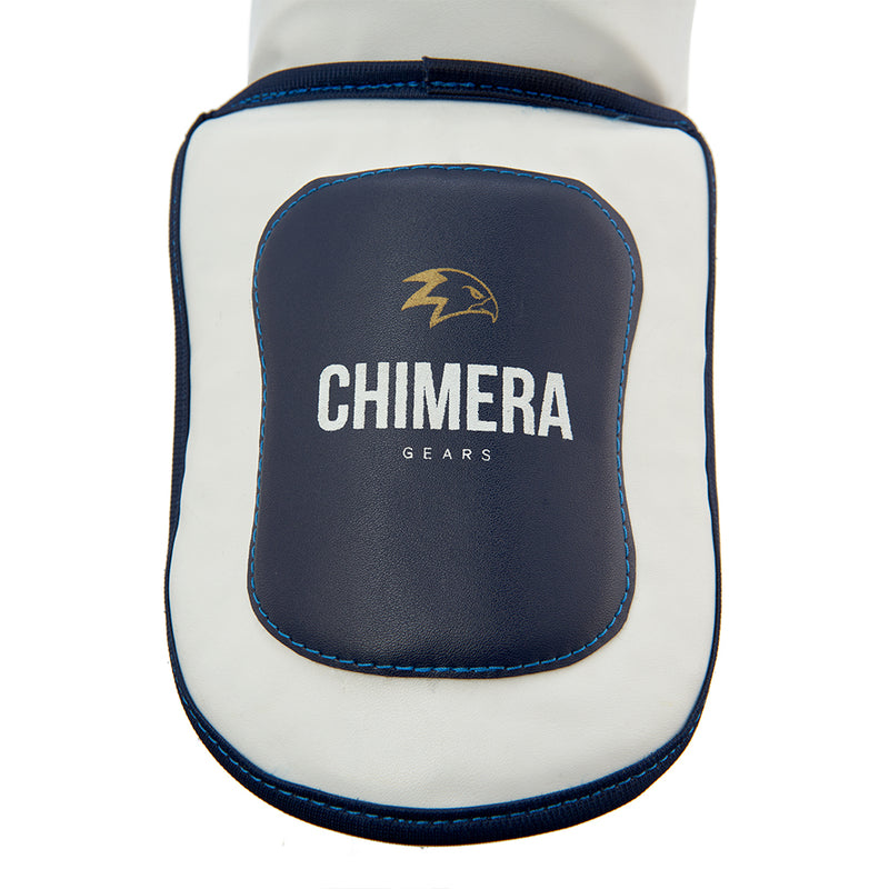 Shin Guard Chimera White
