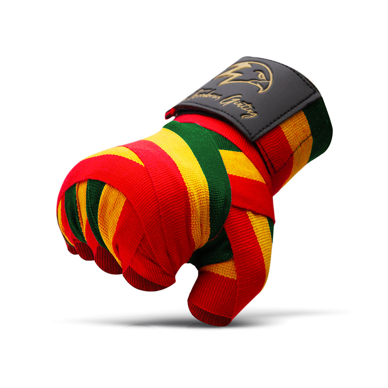 Singa Karo Red-Yellow-Green Handwraps