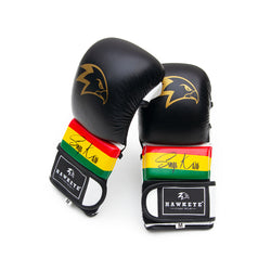 Singa Karo Black MMA Hybrid Gloves