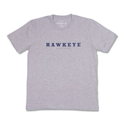 Hawkeye Logo Gray Basic Tee