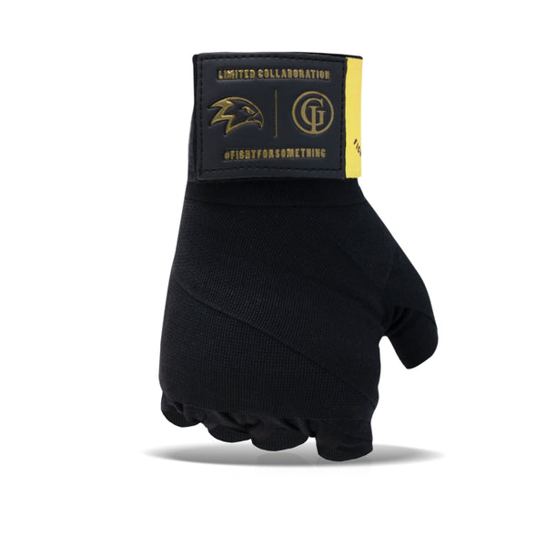 """Happy Pill"" Black Handwraps"