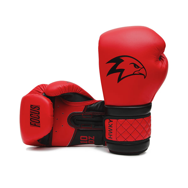 Focus Black Cardinal Boxing Gloves