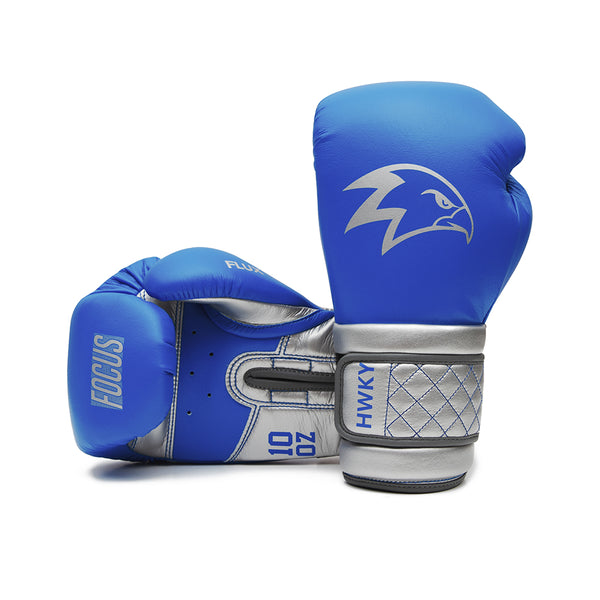 Focus Navy Plated Boxing Gloves