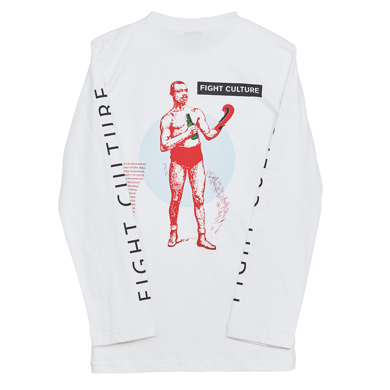Fight Culture White Long Sleeve