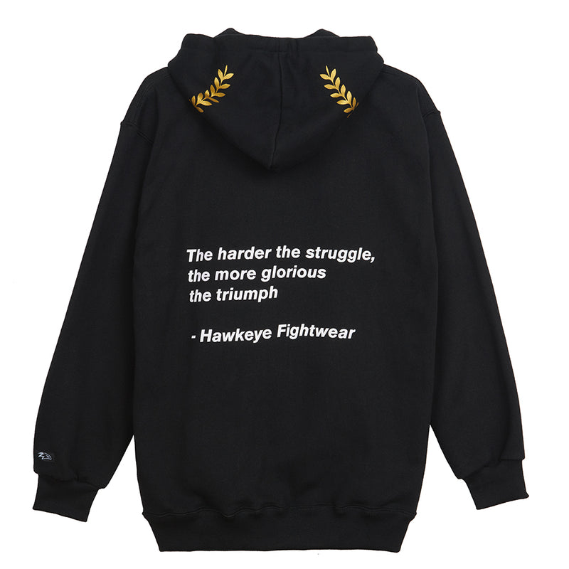 The Struggle Black Pullover Hoodie