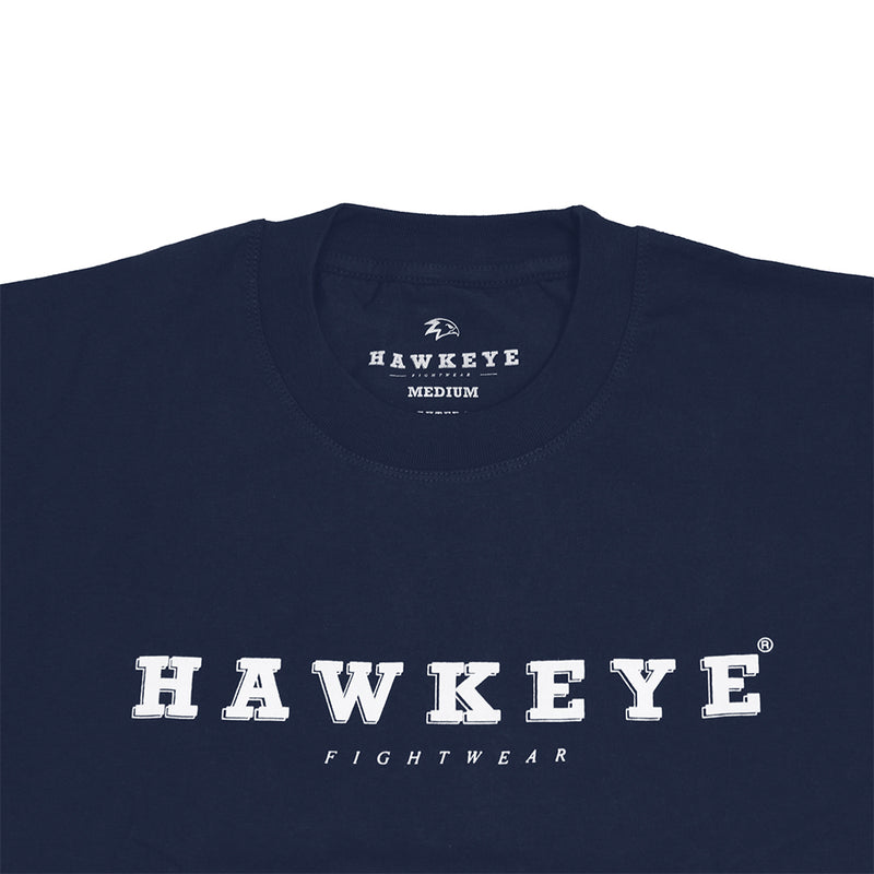 Hawkeye Logo Navy Basic Tee