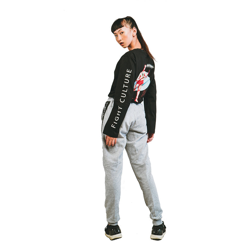 Fight Culture Black Long Sleeve