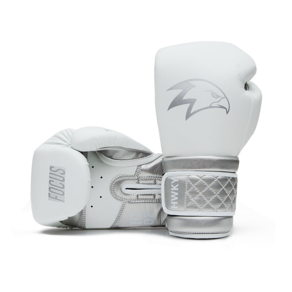 Focus Boxing Gloves | Alabaster Porcelain