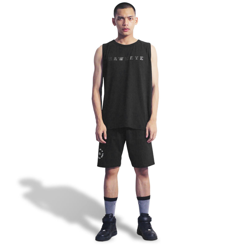 Conqueror Black Tank Top