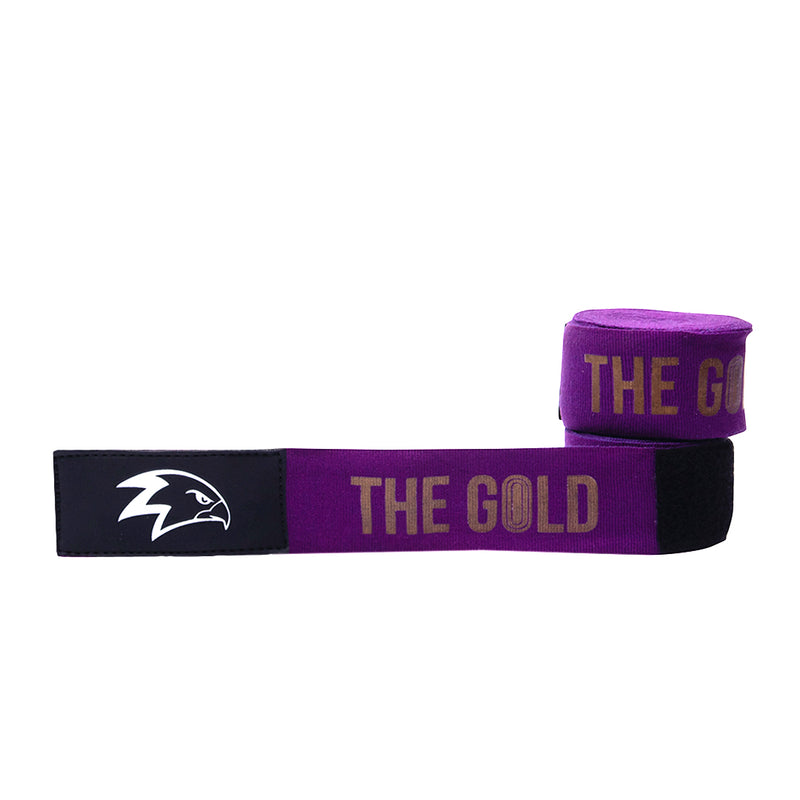 The Gold Handwraps 4,5m | Violet