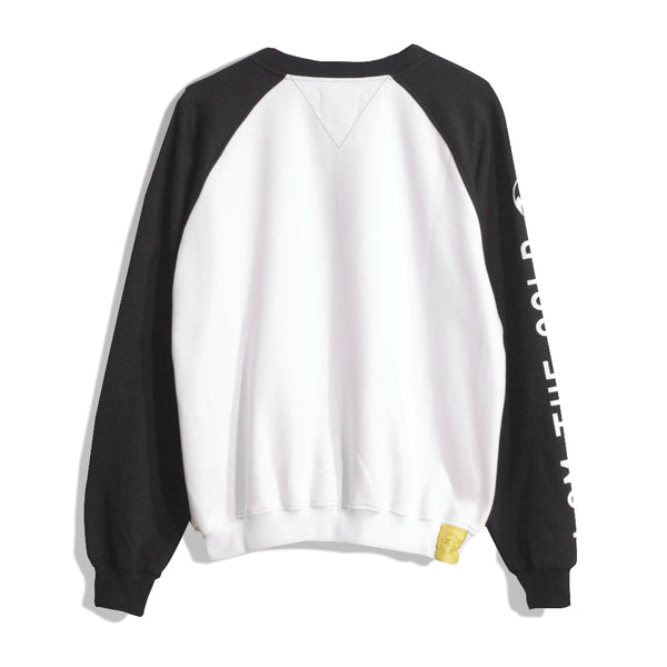 I Am The Gold White Crewneck Sweatshirts