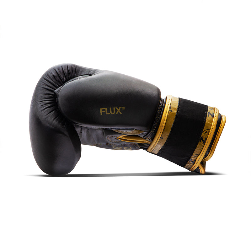 The Gold Midnight Boxing Gloves