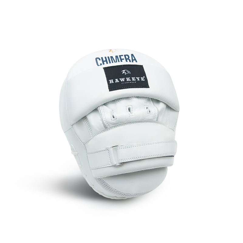 Focus Mitts Genuine Leather Chimera White