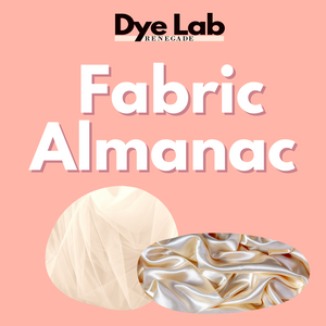 The Fabric Almanac: What to Expect with Dyeing Your Dress