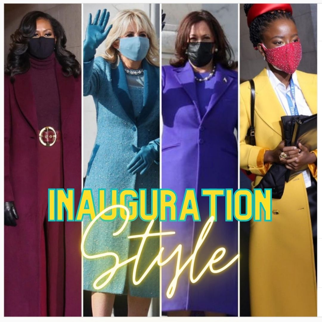 Inauguration Style Recap: COLOR IS YOUR TOOL
