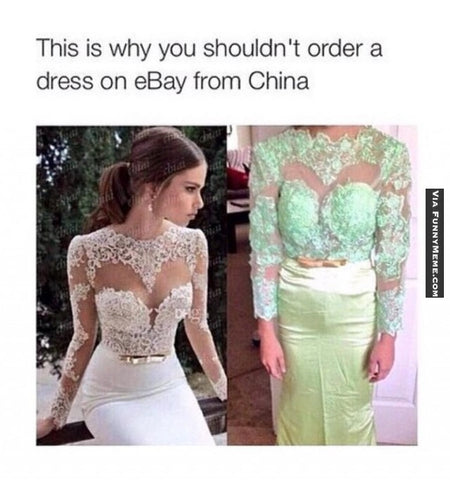 how to order a wedding gown from china that isn t a trainwreck